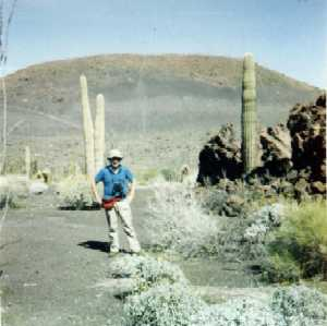 Photo of Mike Plagens at Pinacate